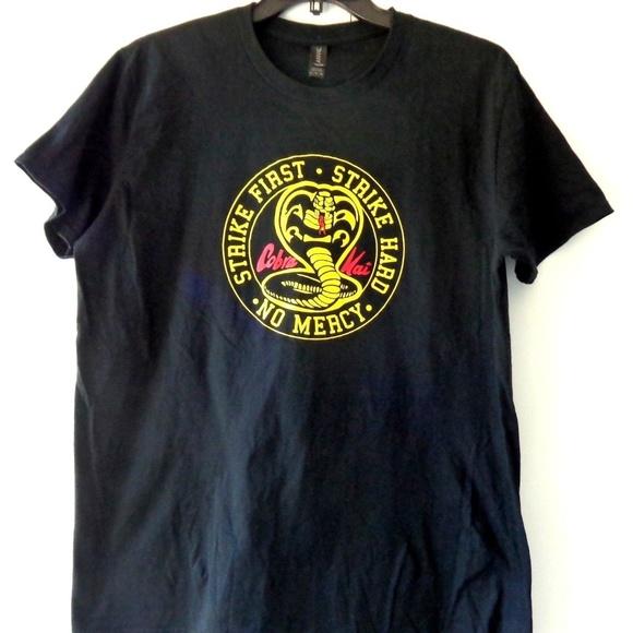 Mens New Cobra Kai T-Shirt In Red Karate Kid